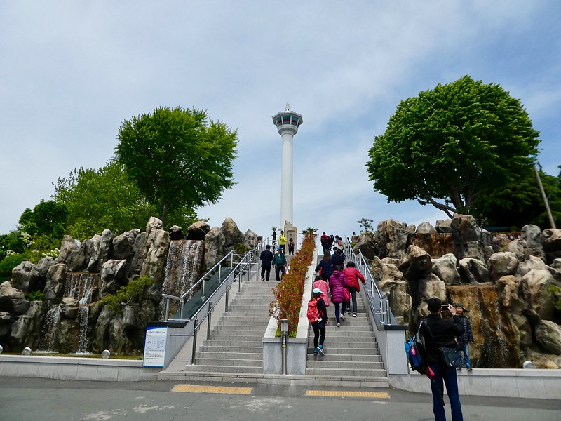 Busan Tower,Yongdusan Park, Nampo