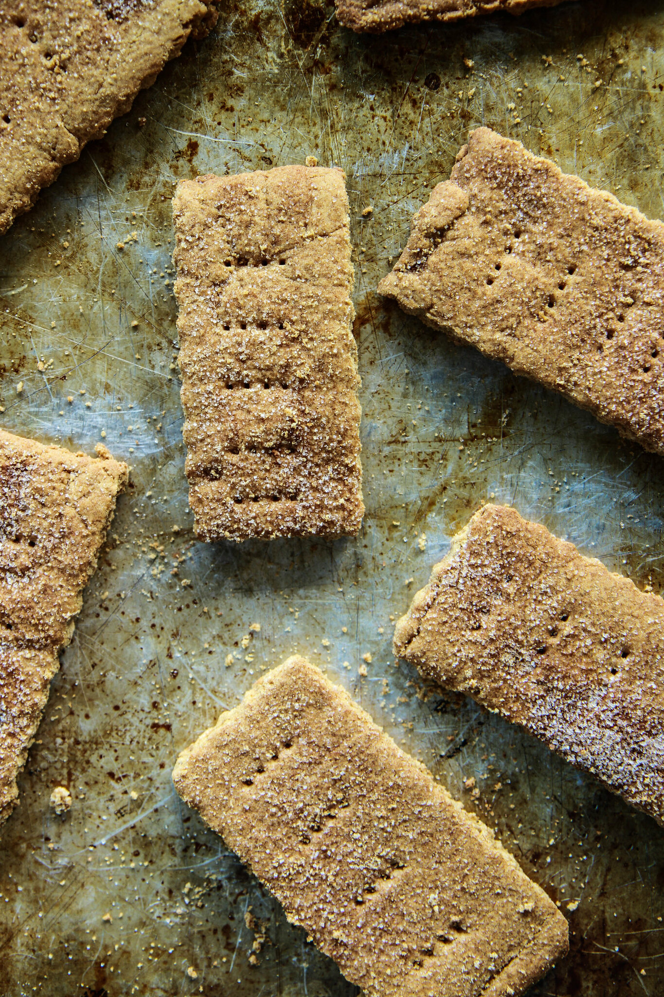Homemade Graham Crackers (Vegan and Gluten-Free) from HeatherChristo.com