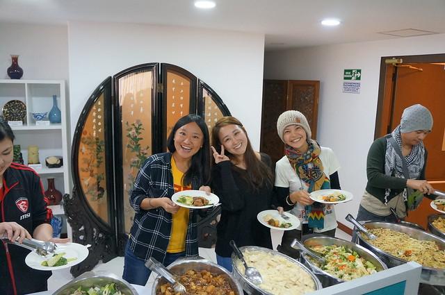 拉美-哥倫比亞-1070521 駐哥倫比亞代表處辦理「哥臺青年座談分享會」 來哥旅遊國人品嚐代表處準備美食, Sony NEX-5N, Sony E 18-55mm F3.5-5.6 OSS