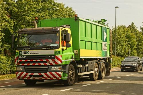 DAF CF E5 75.310 FAG - IOK Afvalbeheer Geel, België
