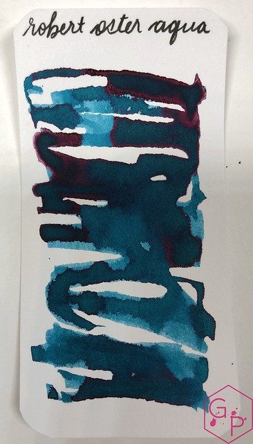 Robert Oster Aqua Ink Review @PhidonPens 3