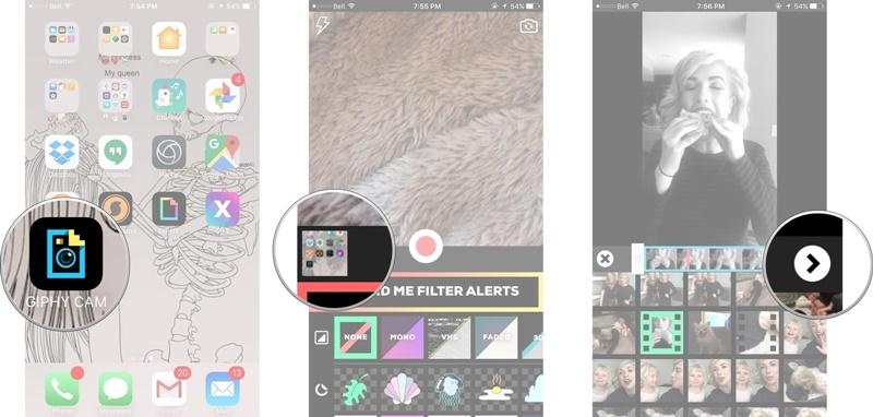 Cách tạo ảnh động GIF trên iPhone