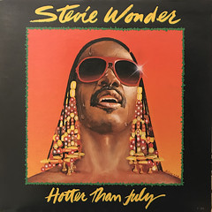 STEVIE WONDER:HOTTER THAN JULY(JACKET A)
