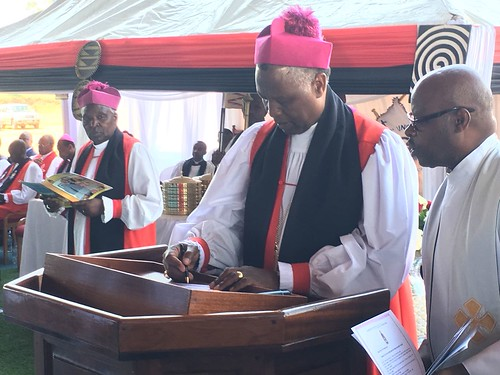 Archbishop Laurent Mbanda enthroned as new Primate of Rwanda