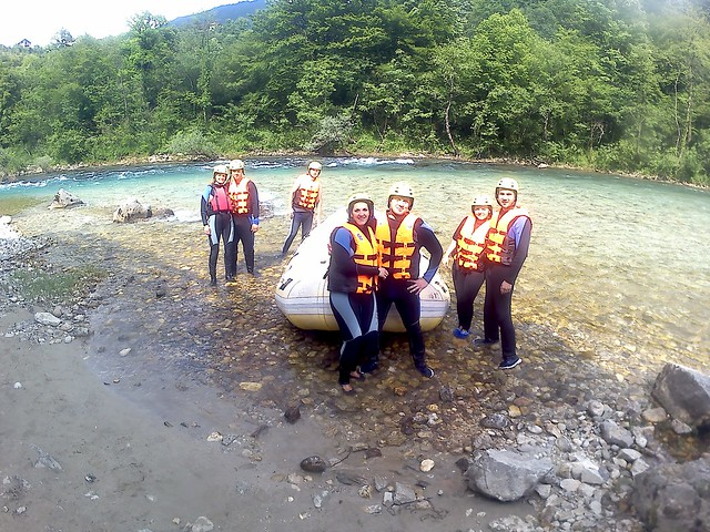 Neretva river raft down 5 hours