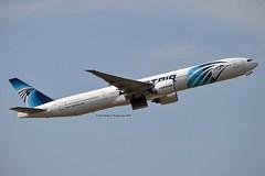 Egyptair SU-GDM Boeing 777-36NER cn/38285-862 @ EGLL / LHR 26-05-2018