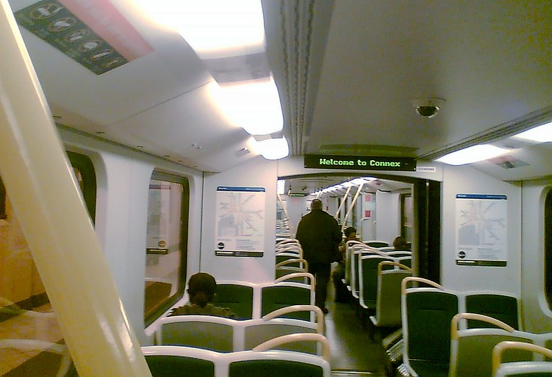 Siemens train, May 2008