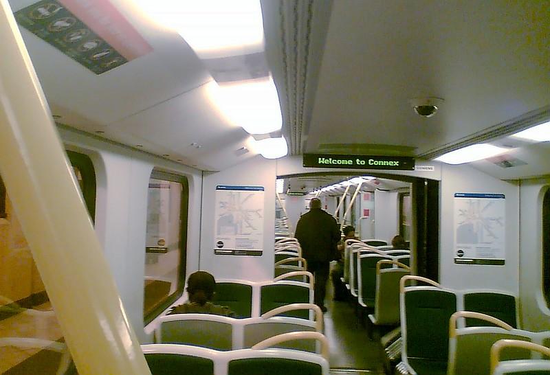 Siemens train, May 2008