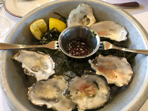 Washington state oysters after