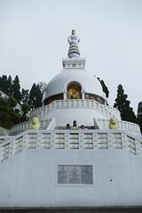 At Japanese Buddhist Temple & Peace Pagoda