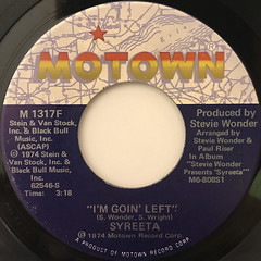 SYREETA:I'M GOIN' LEFT(LABEL SIDE-A)