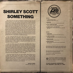 SHIRLEY SCOTT:SOMETHING(JACKET B)