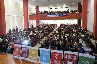 La Universidad San Ignacio de Loyola (USIL)  a través de la Vicepresidencia de Responsabilidad Social (VPRS) brindó un taller gratuito de Responsabilidad Social a más de 400 escolares de 3ero, 4to y 5to grado de secundaria.