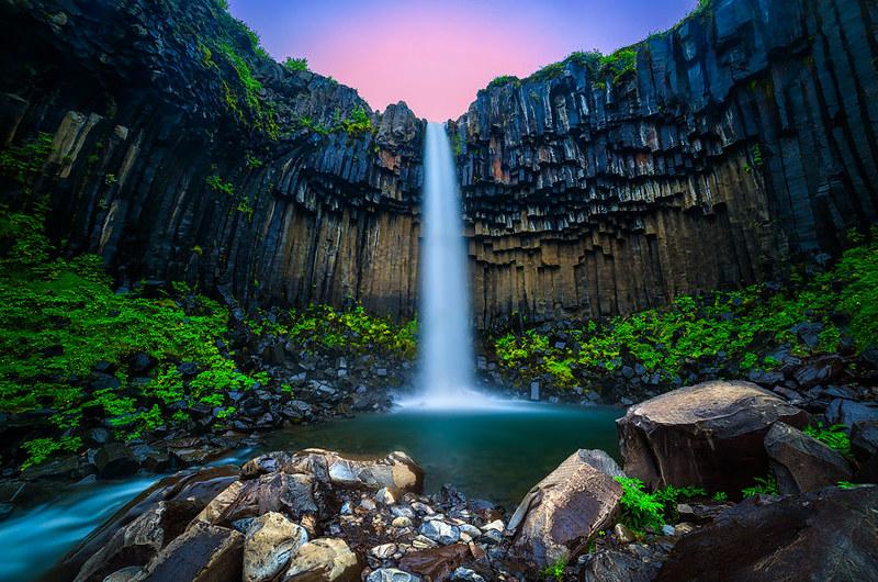 Svartifoss-Black-Fall-Skaftafell-National-Park-Iceland-Zsolt-Kiss