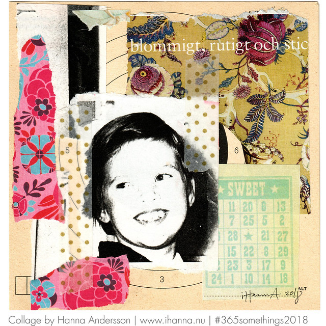 Told to smile for the camera - Collage no 86 by iHanna #365somethings2018 #nofreedom