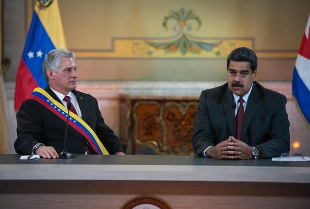 Em visita a Venezuela, Díaz-Canel e Maduro inauguram nova era de cooperação