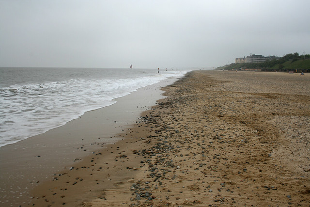The beach at Lowestoft