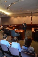 Rep. Simanski speakes with Barkhamsted School 4th Graders
