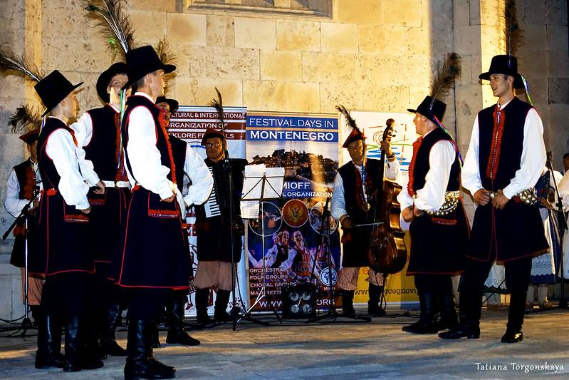 Выступление фольклорной группы из Польши