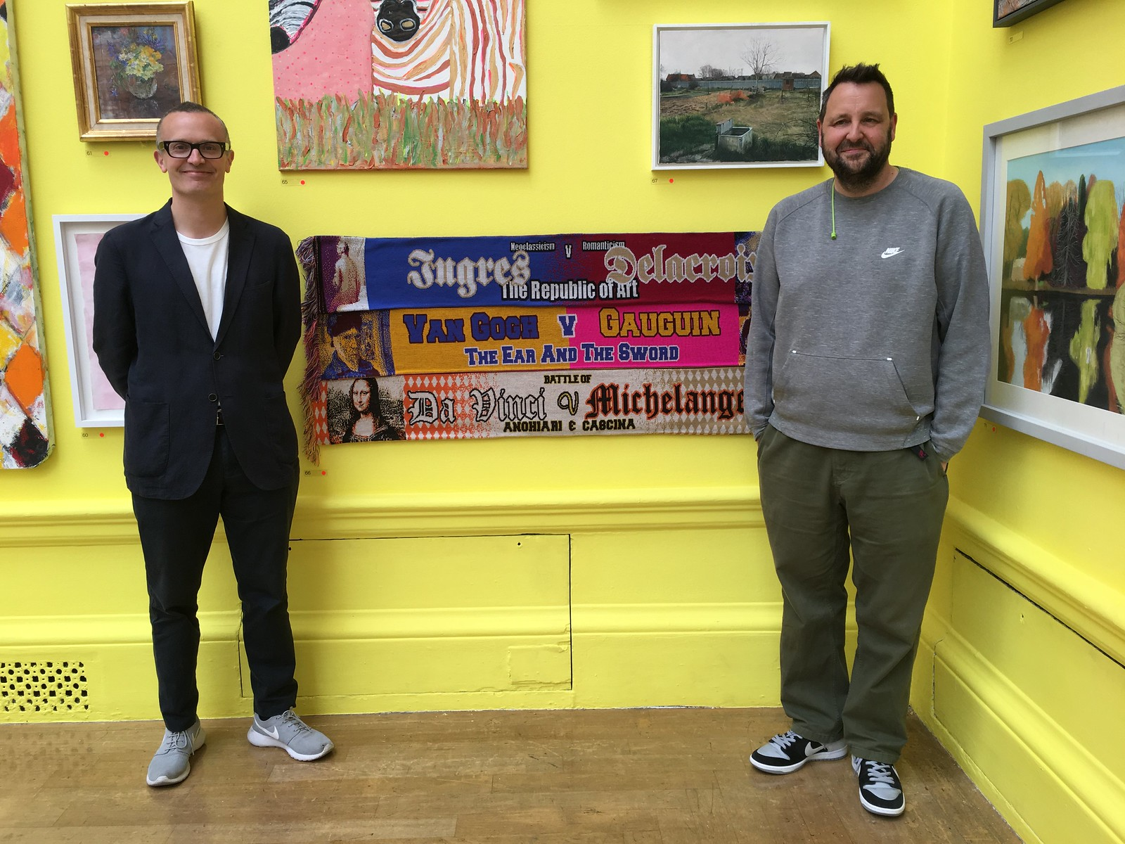 Artists in the Royal Academy Summer Exhibition