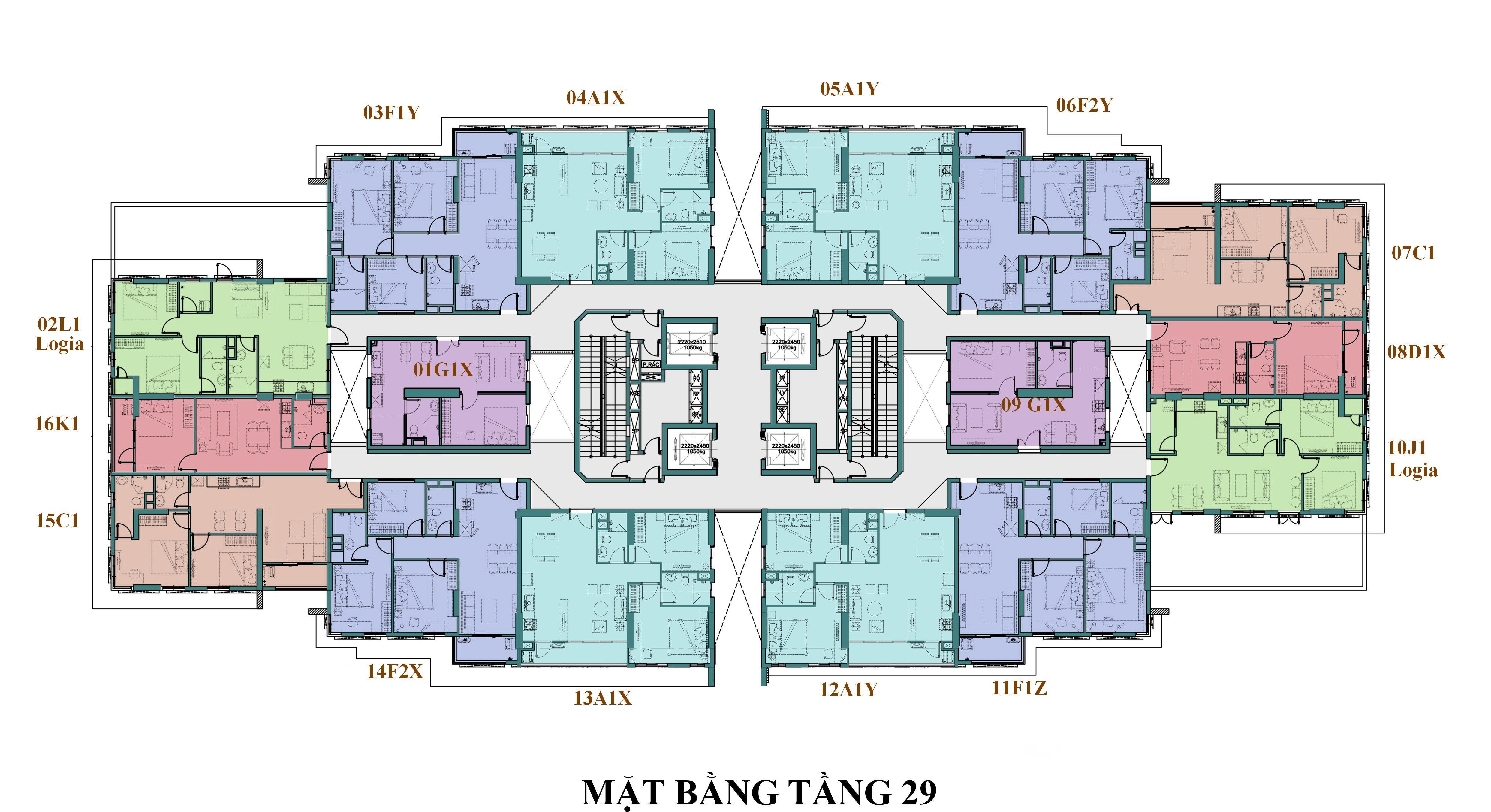 mat bang tang a1 riverside
