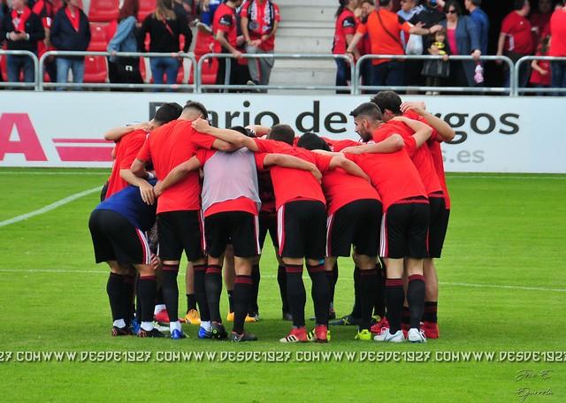 Mirandes - Extremadura (Playoff 2018)