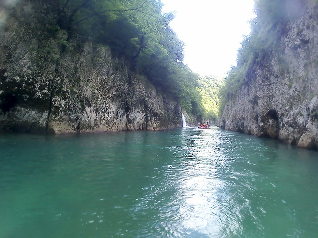 In Bosnia the best raft river