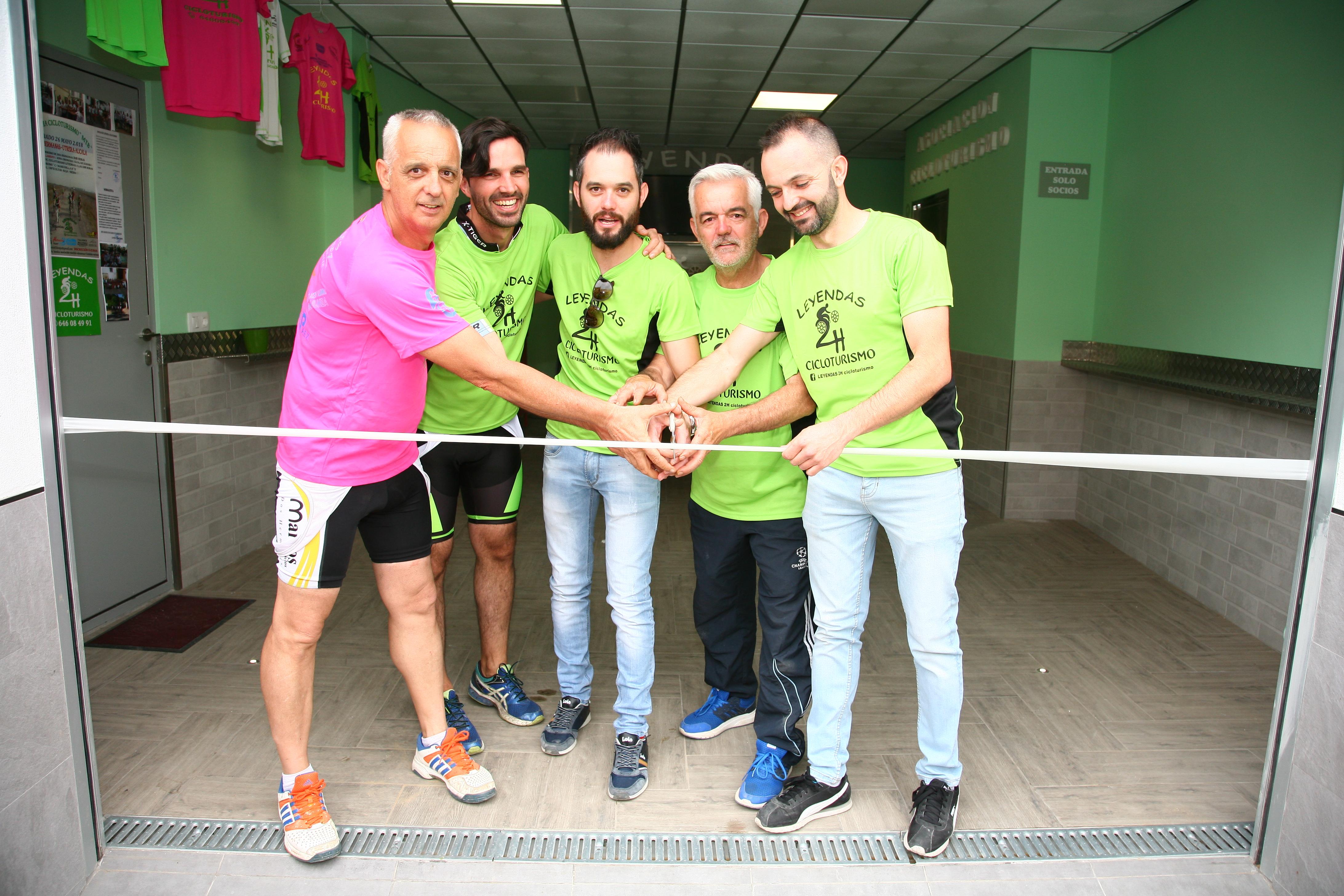 Inauguración de la sede de Leyandas 2h cicloturismo