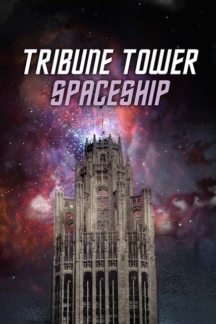 Tribune Tower Spaceship