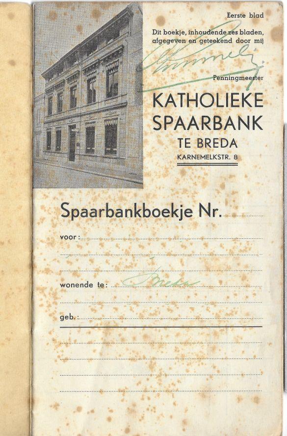 KatholiekeSpaarbankTeBredaBoekjePagina01