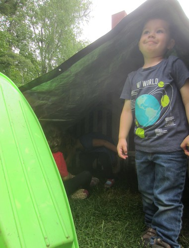 a tarp tent