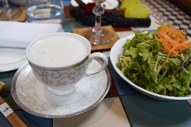 Miso Cappuccino at Yashin Ocean House, Kensington #sushi #london #kensington