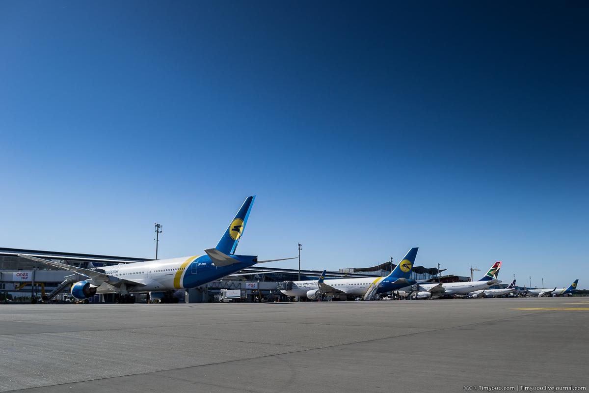 Терминал D международного аэропорта Борисполь 2018
