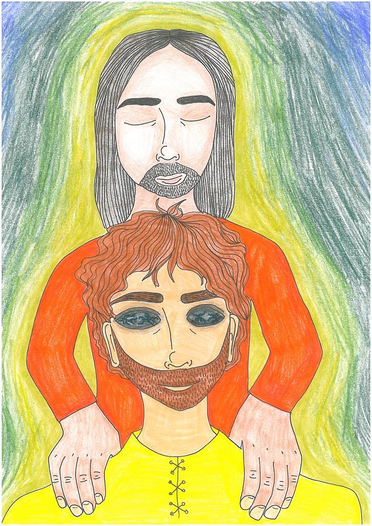 Výsledok vyhľadávania obrázkov pre dopyt Ježiš uzdravuje slepého