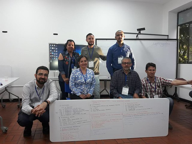 Taller docente y técnico de MOOCs en Unicauca