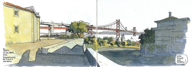 sketch_LISBON_Ponte 25 de Abril_180520_300dpi