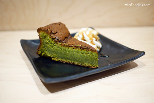 Matcha Gateau Chocolat