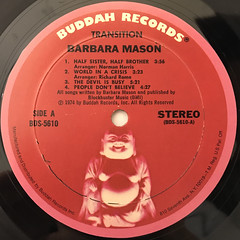 BARBARA MASON:TRANSITION(LABEL SIDE-A)