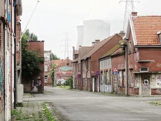 Doel, ghost town in Belgium