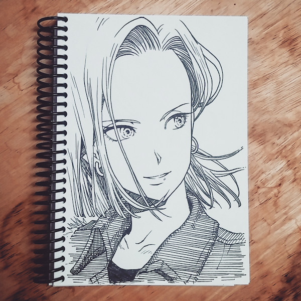 inktober 2017 Android 18