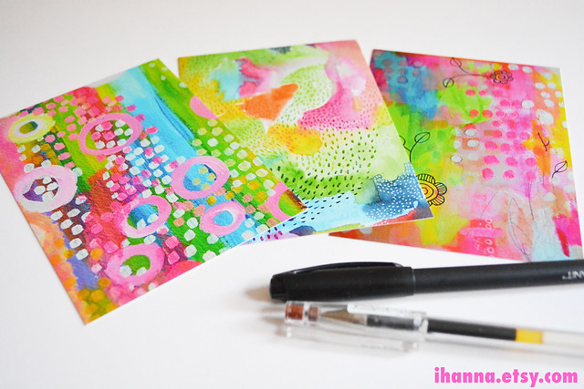Abstract Printed Postcards by iHanna (printed by Moo)