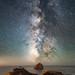 Cape Kiwanda at Night by Matt Payne Photography