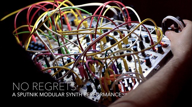 no regrets :: synthesizer performance video cover