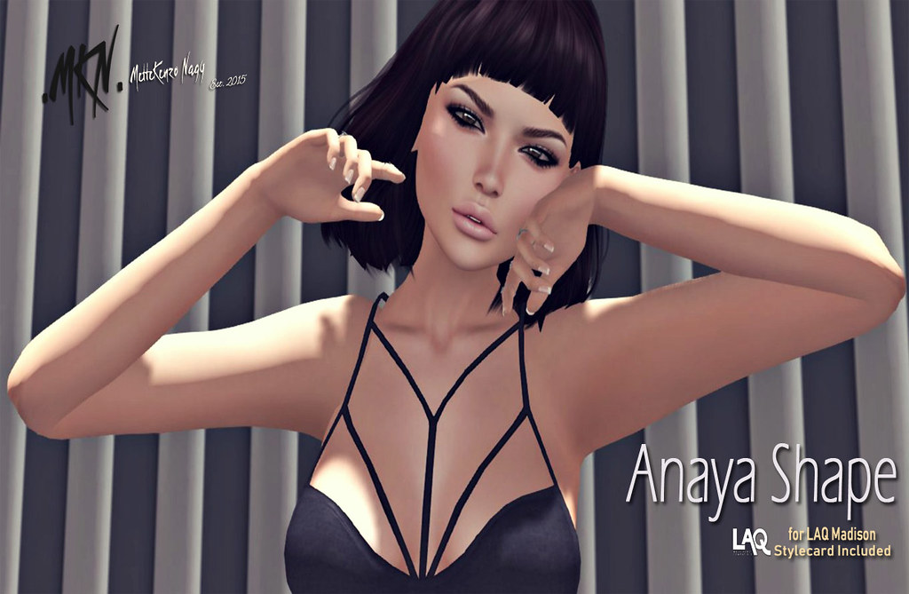 . MKN . Anaya Shape (for LAQ Madison) - TeleportHub.com Live!