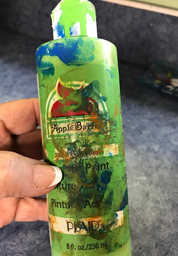 paint bottle