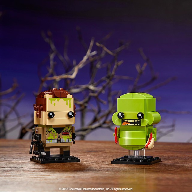 Happy Ghostbusters Day 2018! Slimey Brickheadz Available July 1st