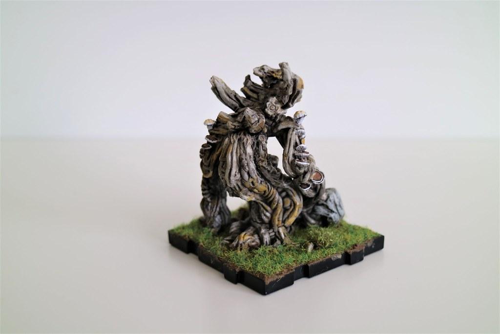 Runewars Miniatures Latari Scion Lichen Back
