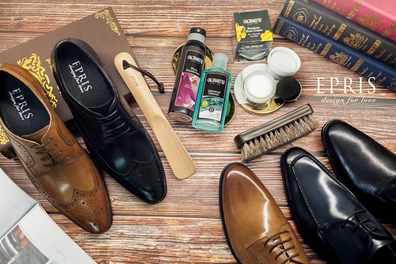 皮鞋保養清潔