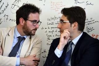 Giuseppe Nitti e Agostino Mirizio
