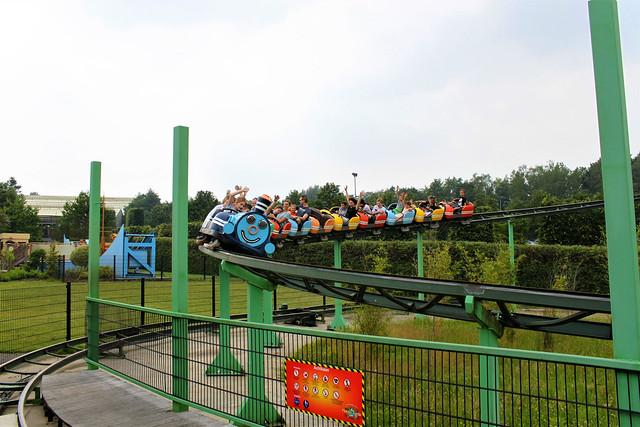 rollercoaster in Mondo Verde
